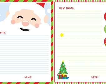 Letter to Santa, Printable Santa Letter, Santa's Letter