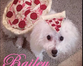 Dog Pizza Costume, Pet costume, Dog Costume, Pizza Costume, Dog Halloween, Dog Halloween Costume