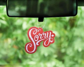 Sorry Air Freshener