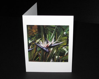 Ave Gigante del Paraiso Greeting Card