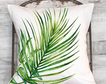 Pillow Cover Tropical Palm No. 1