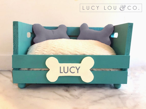 Custom Personalized Dog Bed