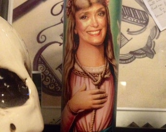 Blanche Devereaux Golden Girls Prayer Candle