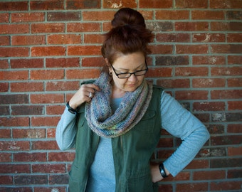 Fall Colors Knit Cowl