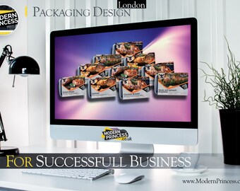 Packing Design Service for Companies BRAND - Branding - No.1 in UK - One product Branding Marketing Logo