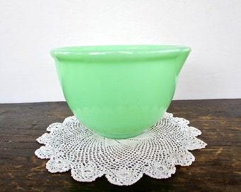 Small Jadeite Mixing Bowl