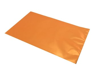 20, 50, 100 or 200 10x15cm or 15x25cm metallic orange gift box