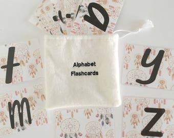 Dream Catcher Alphabet Flashcards