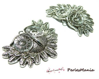 1 large OWL pendant antique silver charms for jewelry making 2B 3341