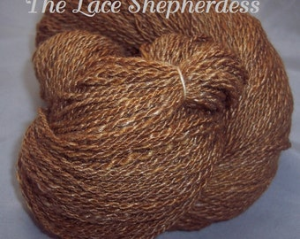 Handspun Yarn.256 yards Merino/Silk/Bamboo. Sport Weight. SK # 116