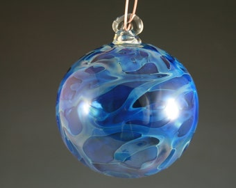 Hand Blown Glass Christmas Tree Ornament