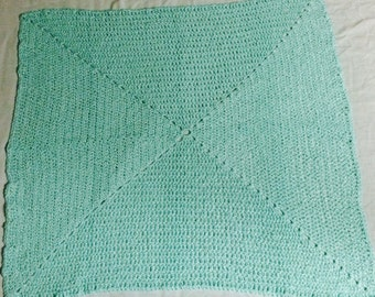 Baby Blanket Sea Green