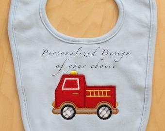 Personalized Baby Bib Organic Cotton