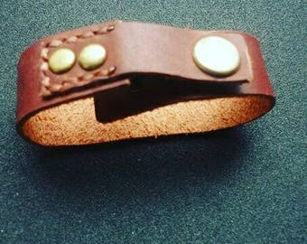 Leather bracelet Leather bracelet for men leather bracelet for women Gift