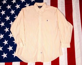 Ralph LAUREN POLO Shirt Men's Size XL