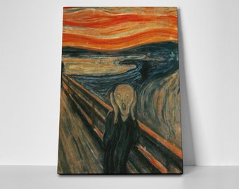 Scream Poster or Canvas