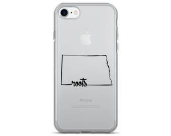 North Dakota Roots - iPhone Case (iPhone 7/7 Plus, iPhone 8/8 Plus, iPhone X)