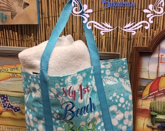Toddler Beach Bag / My 1st Beach Bag