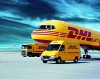 DHL Express Shipping - leave us your phone number when check out.