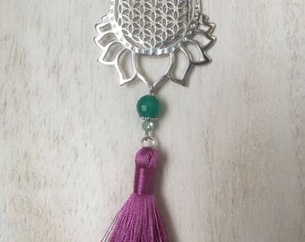 Ever Beautiful Lotus - Necklace
