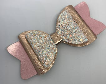 Glitter Hair Bow, Big Hair Bow, Handmade Hair Clips, Girls Accessories, Hair Bows and Clips, Hair Bows for Girls, Toddler Bows, Bows, Clips