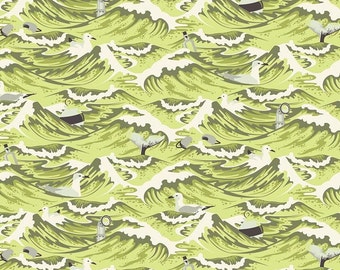 Free Spirit - Tula Pink - Salt Water - Sea Debris - Seaweed - Cotton Woven Fabric