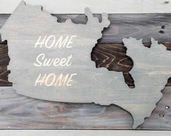 Wood Wall Art | Wood Sign | Canada