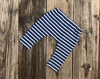 Unisex organic cotton knit baby toddler leggings harem pants