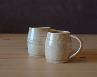 Handmade, Wheel Thrown, Porcelain, MUGS | Cutie Mugs