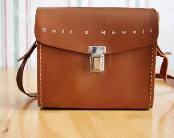 Vintage Bell & Howell Camera Bag 1950s