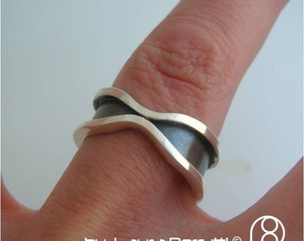 Sterling Silver Ring - Framing an Encounter