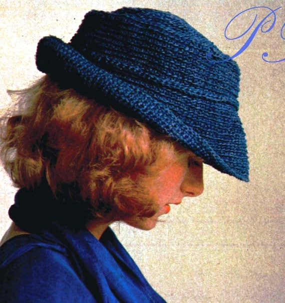 Crochet Soft Hat Ladies Or Mens Hat Pdf Crochet Pattern