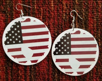 America Earrings