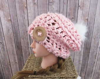 Evelyn Slouch Hat Pattern, Instant Download
