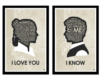 I love you, I know poster set
