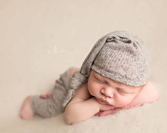 Newborn Pant and Sleepy Hat Set, Newborn Sleepy Hat, Newborn Pants, Newborn Photo Prop, Newborn Photography, Photo Prop, Boy Props