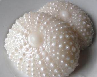 Sea Urchin Soap- Glycerin soap - shaped soap - pineapple scented - summer fun