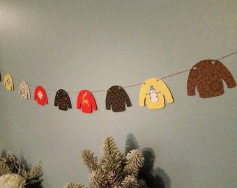 ugly christmas sweater party, ugly sweater decoratons, Ugly sweater banner, ugly sweater party banner, custom banner, custom party