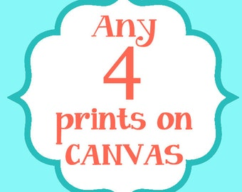 CANVAS Art Print, Nursery Canvas Art, Toddler Canvas Decor, Playroom Decor, Kids Art, Baby Girl, Baby Boy Decor, Kids Bedroom, Bathroom Art