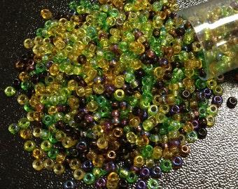 Earth Tone Mix Czech Seed Bead 11/o 11/O 11-mix07