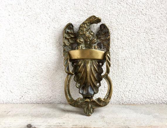 Attrayant Vintage Brass Eagle Door Knocker, Large Door Knocker, Solid Brass From  EnchantedWestVintage On Etsy Studio