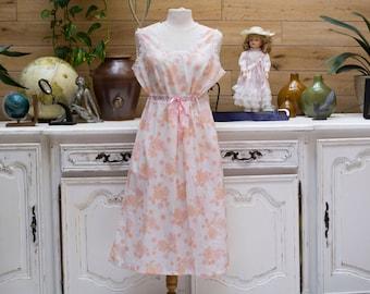 Vintage  Transparent Sleeping Dress