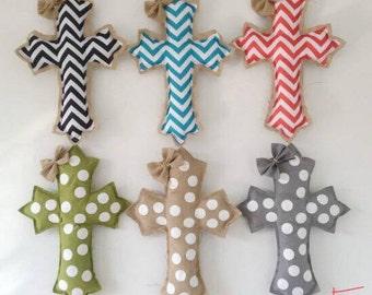 Easter burlap door hanger - preorder