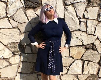 Mod zip up dress