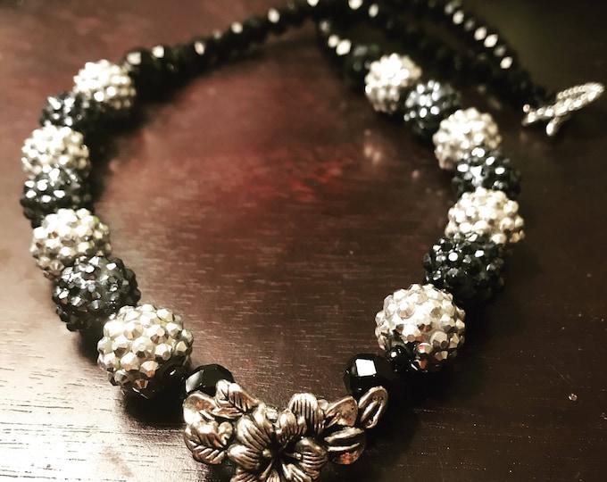 Holly Sparkle Pave Necklace