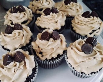 Peanut Butter Cup CupCakes***local delivery -Reno Sparks***