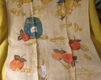 Vintage Linen Towels (Set of 2)