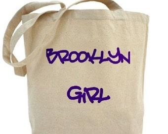 Brooklyn Tote - Cotton Canvas Tote Bag