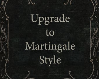Martingale Collar Upgrade for You Had Me at Woof Dog Collars, Adjustable, for Big or Small Dog