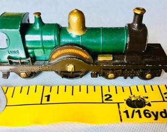 Matchbox Lesney, Duke of Connaught, 4-2-2 Steam, Locomotive #14, Made in England, released in 1959-1960, Vintage Lesney